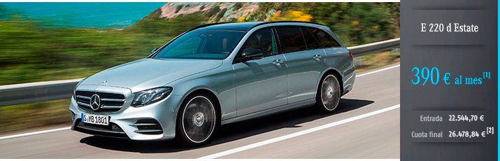 Oferta Mercedes Clase E Estate con Mercedes-Benz Alternative